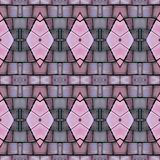 abstract collage design from an image of marble pieces in pink and gray colors, background and texture vector illustration