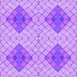 Abstract collage design from an image of marble pieces in pink and purple colors, background and texture. Abstract collage design image marble pieces pink purple royalty free illustration