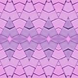 Abstract collage design from an image of marble pieces in pink and purple colors, background and texture. Abstract collage design image marble pieces pink purple stock illustration