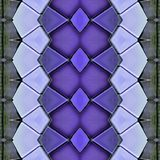 Abstract collage design from an image of marble pieces in purple colors, background and texture. Abstract collage design image marble pieces colors background vector illustration