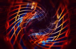 Abstract collage with music notes, music concept, computer graphic design. Royalty Free Stock Photos