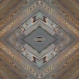 abstract collageontwerp van een beeld van houten stroken in bruine kleuren, achtergrond en textuur royalty-vrije stock foto's