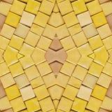 abstract collageontwerp van een beeld van marmeren stukken in gele kleuren, achtergrond en textuur royalty-vrije stock foto