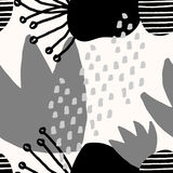 Abstract Collagepatroon vector illustratie