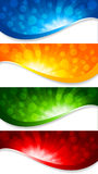 Abstract collection of banners Stock Images