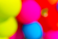 Abstract collorfull blurry ballons background Royalty Free Stock Images