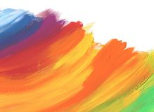 Abstract color acrylic painted background. royalty free stock photography