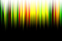 Abstract color aurora Stock Photos