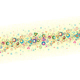 Abstract color background . Stock Photography