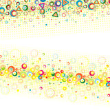 Abstract color background. Stock Photo