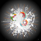 Abstract color background. Vector illustration Stock Photos