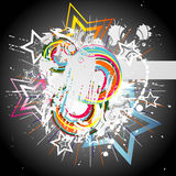 Abstract color background. Vector illustration Stock Photo