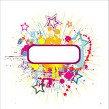 Abstract color background. Vector illustration Royalty Free Stock Photography