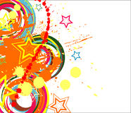 Abstract color background. Nice color background . Vector illustration Royalty Free Stock Image