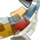 The  abstract color background Royalty Free Stock Images