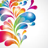 Abstract color background. Royalty Free Stock Photo