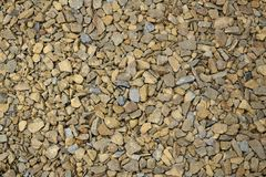 Abstract color background photo of a large gravel mound royalty free stock images
