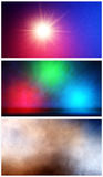 Abstract Color Background Set Stock Photo
