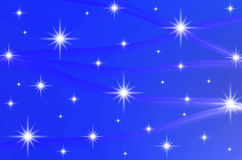 Abstract color background with stars Stock Photos