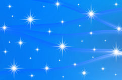 Abstract color background with stars Royalty Free Stock Photo
