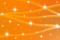 Abstract color background with stars Royalty Free Stock Photography