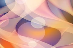Abstract color background, warm colors geometric shapes. Suitable for further use Stock Photo