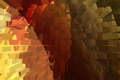 Abstract color background, warm colors geometric shapes. Suitable for further use Stock Photos
