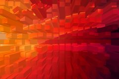 Abstract color background, warm colors geometric shapes. Suitable for further use Stock Images