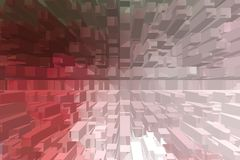 Abstract color background, warm colors geometric shapes. Suitable for further use Royalty Free Stock Photos