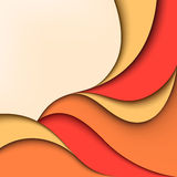 Abstract color background. Wavy design Stock Photography