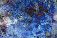 Abstract color Backgrounds, collage with spots. Rust structure and crackle Stock Photos