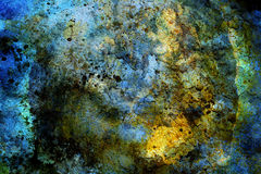Abstract color Backgrounds, collage with spots. Rust structure and crackle Stock Image