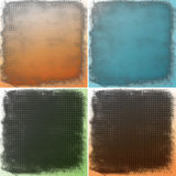 Abstract color backgrounds with dots Stock Photo