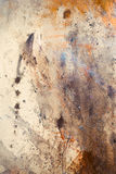Abstract color Backgrounds, painting colage with spots, rust structure Stock Image