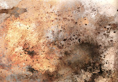Abstract color Backgrounds, painting collage with spots, rust st. Ructure Stock Photo