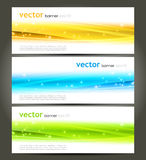 Abstract color banner Royalty Free Stock Images