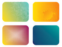 Abstract Color Banner Illustration Stock Photo