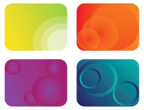 Abstract color banner illustration  Stock Photography