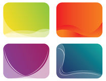 Abstract Color Banner Illustration Stock Image