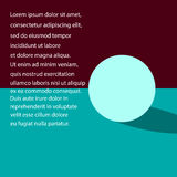 Abstract color banner with text for business and advertising. (vector eps 10 Stock Photos
