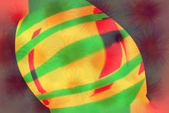 Abstract color beautiful pattern and design for background.  Stock Image