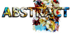 Abstract color BG Royalty Free Stock Photos