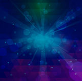 Abstract color blu Stock Photography