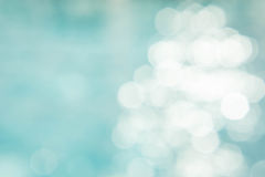 The abstract color blur background on bokeh style Stock Image