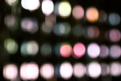 Abstract color bokeh background Royalty Free Stock Photos