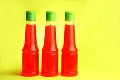Abstract color bottles Stock Image
