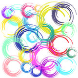Abstract color brush background Stock Photos