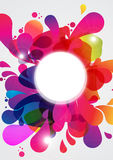 Abstract Color Burst Royalty Free Stock Photo