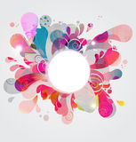 Abstract Color Burst Royalty Free Stock Image