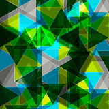 Abstract Color Business Background triangles Royalty Free Stock Photos